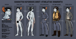 Character Reference Sheet: Athelstan Unsworth by Amaryllex