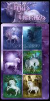 Kids Dream backgrounds by moonchild-ljilja