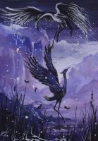 On the Wings of Winter by Asteri-A