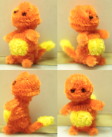 Pipecleaner Charmander by Lyrratic
