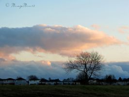 Clouds at Dawn... by Michies-Photographyy