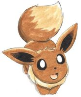 Eevee by ShrubSparrow