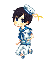 Sailor Haru by baenana
