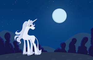 My Little Last Unicorn by StevenRayBrown