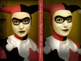 Harley Quinn Makeup by eglem