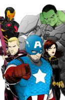 Avengers by Pandora-Fables