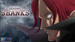 Akagami Shanks by DEIVISCC