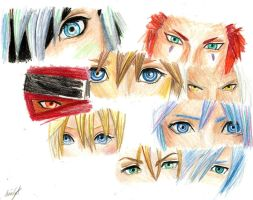 Kingdom Hearts- Eyes by VIIIFireLordAxel