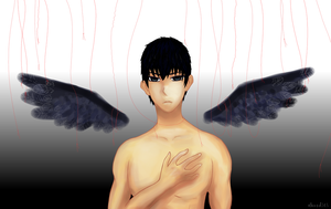 Kageyama.fallencrow by xLhoodies