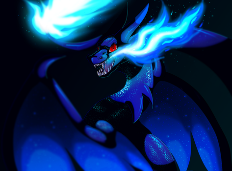Mega Charizard by PlagueDogs123