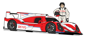 Toyota TS030 - Lady of Le Mans by VachalenXEON