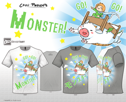 GO GO MONSTER by ChuuStar
