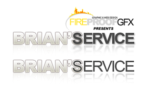 BriansSERVICE Logo Concept by fireproofgfx