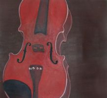 Stringless Violin by sidhehannah