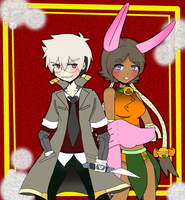 [Commission #5] - Hyde and BonBon by Ragetard