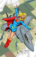 Supergirl Flying High by statman71