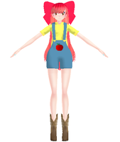 MMD Apple Bloom DL by chickid11