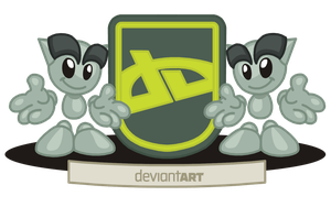 Coat of Arms of deviantART by CoralArts