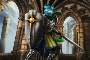 Paladin Stance by 7THeaven