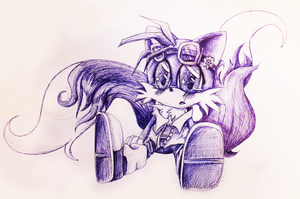 Tails :3 by AlicetheHeartless