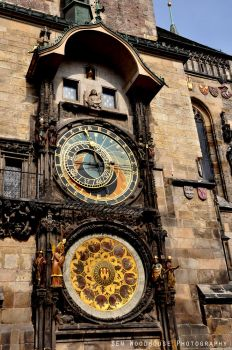 Astronomical Clock of Prague 2 by wooder