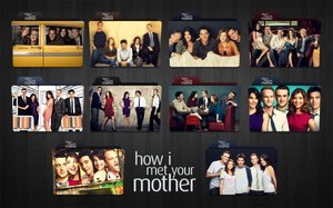 How I Met Your Mother Folder Icons by dmutantx