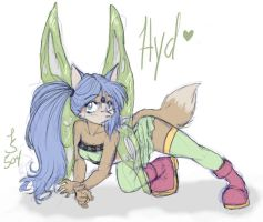 hyd thinks shes a cabbage moth by hydroisis