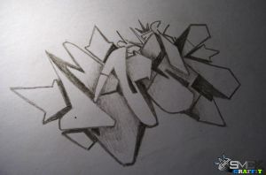 SmecK Graffiti Sketch 14 by SmecKiN