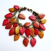 Leaf bracelet by amalie2
