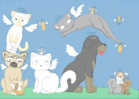 Tribute to Lost Pets by MistyBlue2010
