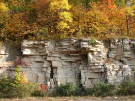 Autumn Cliff Stock Scenery 09 by FantasyStock