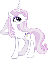My Little Pony FiM: Fleur De Lis by ZzVinniezZ