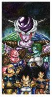 Dragon Ball Z by Fluorescentteddy