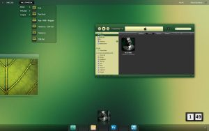 Natural Green Desktop by zone007
