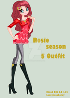 Rosie Season 5 outfit by Loveyraspberry