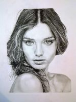 Miranda Kerr by JohnArtz