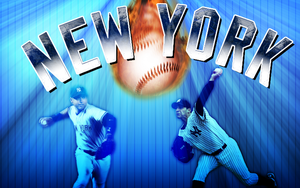 Yankees Wallpaper by wickedwotwes