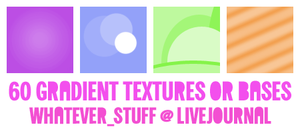 60 icon gradient textures by whatever-freak