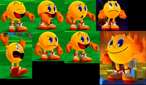 Pac-Man expression in Pac-Man Party by Ilovesonicandfriend