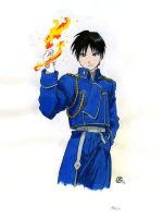 Roy Mustang by TalisX