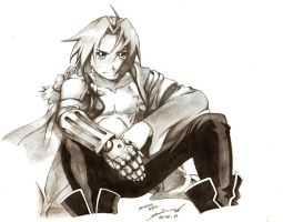 edward Elric by tumbagahan