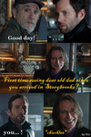 Mr Gold's cool revenge by Omorocca