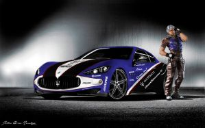 Maserati Granturismo S Lee Chaolan spec pic 2 by girabyte225-jc-lover