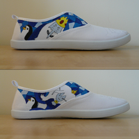 Ice King and Queen - AT Shoes WIP by KeitaEdelstein