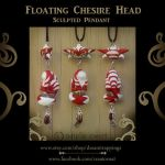 Cheshire And Floating Head Pendant by natamon