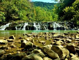 Pinnacle Falls, Lebanon VA by iMiss531
