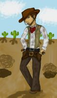 Texas Cowboy by MousieDoodles
