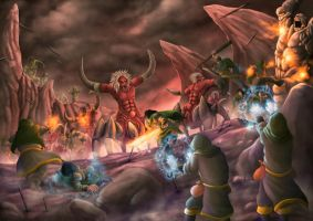 Demon Dungeon War by djambronx