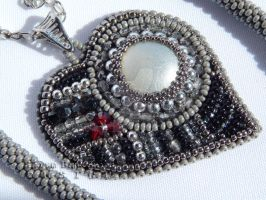Jack Sparrow's Bride Necklace by SilverLineBeads
