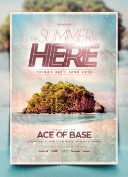 Summer Poster Template Vol. 2 by IndieGround
